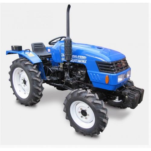 Трактор DONGFENG 244E, 3 циліндри, 24 к.с., 4*4, ГУР, БЕЗКОШТОВНА ДОСТАВКА!