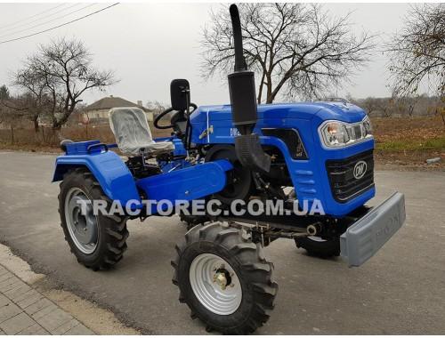 Трактор DW240B NEW 2019, 24 к.с, водяне охолодження, ВОМ, 3х точкова навісна система! Ціна мотоблока!