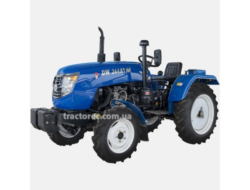 Трактор DW 244 ATM, 24 к.с, 3 цил, повний привід, блокування коліс, високі шини, багата комплектація, БЕЗКОШТОВНА ДОСТАВКА!
