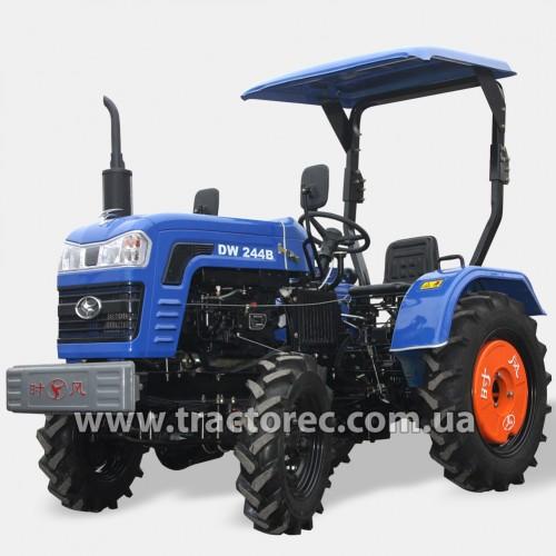 Трактор DW 244B аналог Shifeng SF-244, 4х4, 24 к.с, ремінний привід. ВИСОКІ ШИНИ!