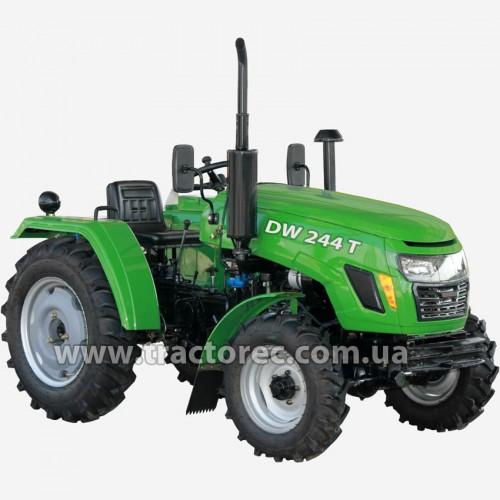 Трактор DW244T, 24 к.с, 3 цил, гідропідсилювач керма, БЕЗКОШТОВНА ДОСТАВКА!