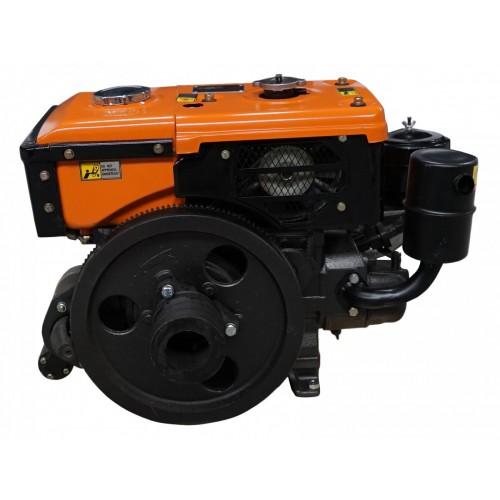 Дизельний двигун Файтер R180NE з електрозапуском, 8 к.с., водяне охолодження, економний та надійний!