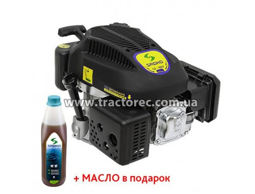 Двигун бензиновий Sadko GE-160V, 5 к.с, БЕЗКОШТОВНА ДОСТАВКА!