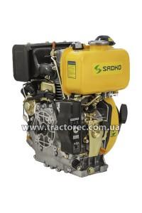 Двигун дизельний Sadko DE-300ME, 6 к.с, шліцевий вал, електрозапуск. БЕЗКОШТОВНА ДОСТАВКА!