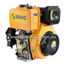Двигун дизельний Sadko DE-420Е, 10 к.с, дизель, електрозапуск! БЕЗКОШТОВНА ДОСТАВКА!