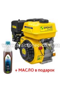 Двигун бензиновий Sadko GE-200 PRO, 6.5 к.с. БЕЗКОШТОВНА ДОСТАВКА!