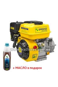Двигун Бензиновий Sadko GE-200R PRO, 6.5 к.с., БЕЗКОШТОВНА ДОСТАВКА!