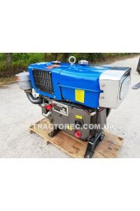 Двигун дизельний Zubr S1100NM з електростартером, максимальною потужністю 17.5 к.с