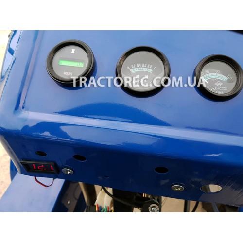 Мототрактор Булат Т-160 LUX з плугом та фрезою, у максимальній комплектації. СУПЕР ЦІНА! Новинка!