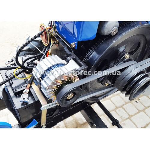 Мототрактор Булат Т-18 люкс, 18 к.с (двигун S1105) , + УСИЛЕНА фреза 140 см та плуг, потужний генератор, БЕЗКОШТОВНА ДОСТАВКА!