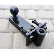 Фаркоп для з'єднання автомобільного або тракторного причепа до мототрактора (міні-трактора)