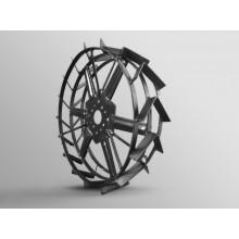 Колеса металеві з грунтозачепами 56 см до мотоблока універсальні