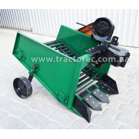 Картоплекопалка транспортена для мототрактора чи мотоблока із приводом від шківа зчеплення, лівостороння
