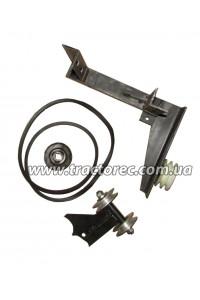 Перехідник під косу роторну для мотоблока (використовується для усіх повітряних мотоблоків із ВОМ)