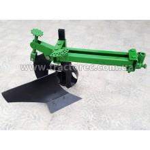 Плуг із збільшеним корпусом та колесом на підшипниках до мотоблока, мототрактора