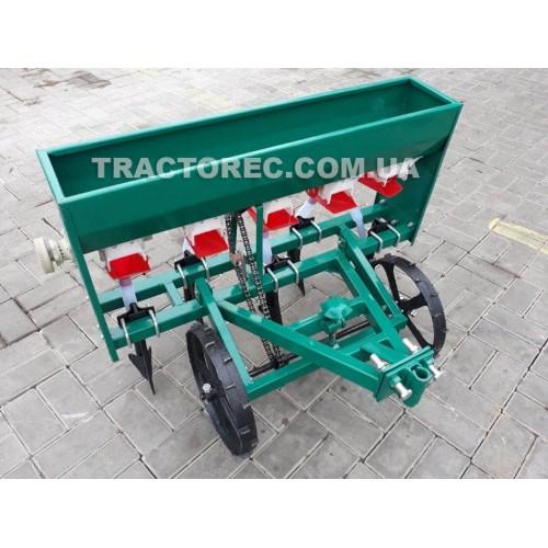 Сівалка зернова 5-ти рядна для мотоблоків, мототракторів від 6 к.с