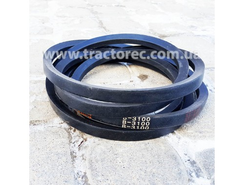 Ремень В3100 (Б3100)  привідний для мототракторів різних модифікацій, хороша якість!