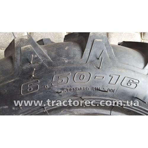 Шина тракторна з камерою 6.50-16 (усилена, нагрузка 650 кг)