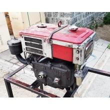 Двигун дизельний від мотоблока ЗУБР JR-Q78, 8 к.с, водяне охолодження. Б/У. Хороший робочий стан.