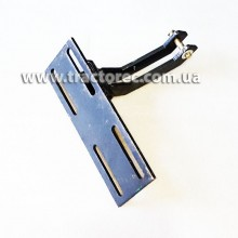 Кронштейн для закріплення переднього гідроциліндра до рами мототрактора будь-якої модифікації