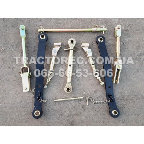 Трьох точкова навісна система для трактора, міні-трактора, мототрактора будь-якої моделі виробництва ЯПОНІЯ. (3х точка, розтяжки, вінт центральний, розкоси, навіска)