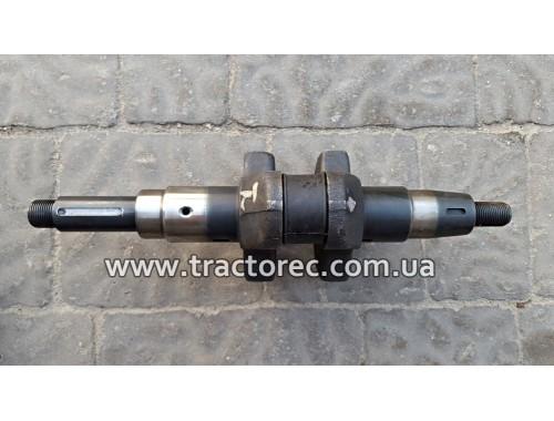 Колінвал дизельного двигуна мотоблока 186F, 9 к.с. (ШПОНКА)
