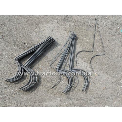 Граблини стальні 6 мм (пружини, прути, дроти) для сіноворошилок сонечко