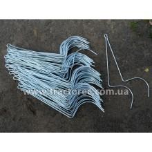 Граблини стальні 6 мм ОЦИНКОВАНІ (дроти, пружини, зуби) для Польських граблів-сіноворошилок