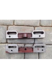 Кронштейн кріплення двигуна мотоблока до рами (комплект із двох пластин) 7-15 к.с.