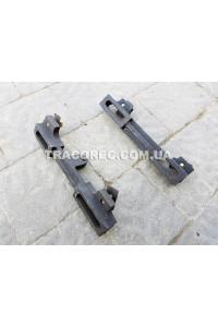Кронштейни кріплення двигуна мотоблока до рами (комплект із двох пластин) 7-15 к.с.