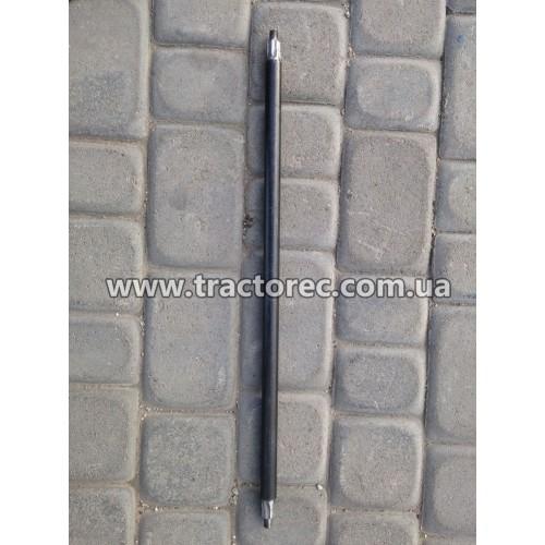 Вал коси роторної боковий, найдовший для мотоблока КР-01 (ремінний привід)