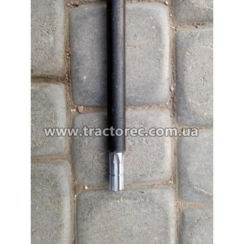 Вал нижній довший коси роторної КР-01, КР-1 (ремінний привід до мотоблока)