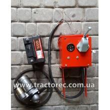 Комплект для переобладнання мотоблока із ручного на ЕЛЕКТРОЗАПУСК (СТАРТЕРА) R180, R190, R195