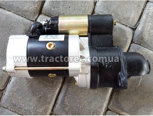 Електростартер редукторний для двигунів мотоблока R190, R192, R195, S1100, 11 зубів