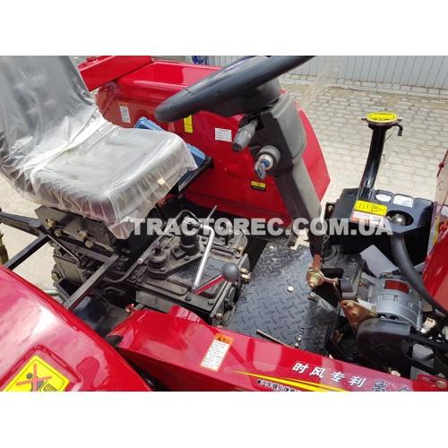 Трактор Shifeng SF-244B, 24 к.с, 4х4, ремінний привід, ресівер, шини 9.50-24, вага 1300 кг. БЕЗКОШТОВНА ДОСТАВКА!