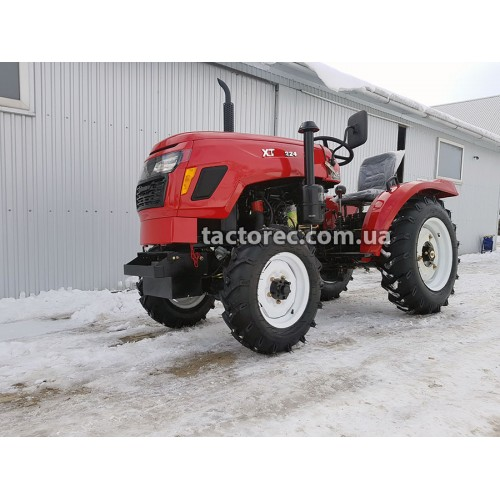 Трактор Xingtai XT244 H, 3 цил, 22 к.с, гідропідсилювач керма, 4х4, безкоштовна доставка!