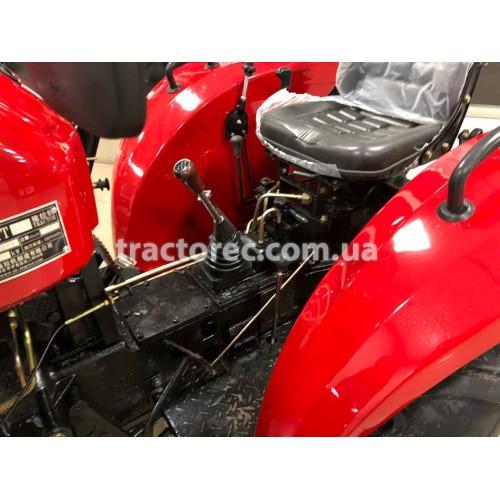 Трактор Xingtai XT244E, 25 к.с, 4х4, 3 цил, блокування коліс, гідропідсилювач керма, грузи задніх коліс, безкоштовна доставка!