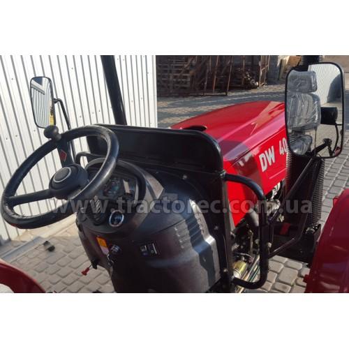Трактор DW404A, 40 к.с, 4 циліндра, гідропідсилювач керма, редукторні мости, реглювання колії, НОВИЙ ДИЗАЙН, БЕЗКОШТОВНА ДОСТАВКА ПО УКРАЇНІ