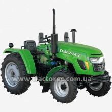 Трактор DW244T, 24 к.с, 3 цил, нова КПП, 4х4, гідропідсилювач керма, БЕЗКОШТОВНА ДОСТАВКА!