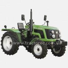 Трактор DW244X, 24 к.с, 3 цил, ГПК, збільшені шини, БЕЗКОШТОВНА ДОСТАВКА ПО УКРАЇНІ!