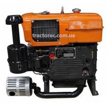 Дизельний двигун Файтер ZS1100E з електростартером, 15 к.с, водяне охолодження, гарантія, доставка!