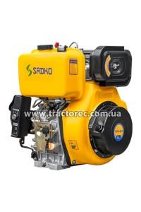 Двигун дизельний Sadko DE-440Е, 12 к.с, електрозапуск, дизель. БЕЗКОШТОВНА ДОСТАВКА!