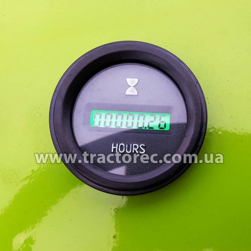 Лічильник мотогодин електричний для трактора, мототрактора, мотоблока
