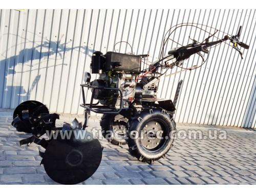 Мотоблок Zirka GT76DE, 7,6 к.с, дизель, фреза 105 см, БЕЗКОШТОВНА ДОСТАВКА ПО УКРАЇНІ!