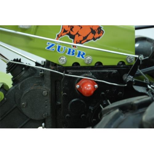 Мотоблок Zubr JR-Q78 з плугом та фрезою, 8 к.с.