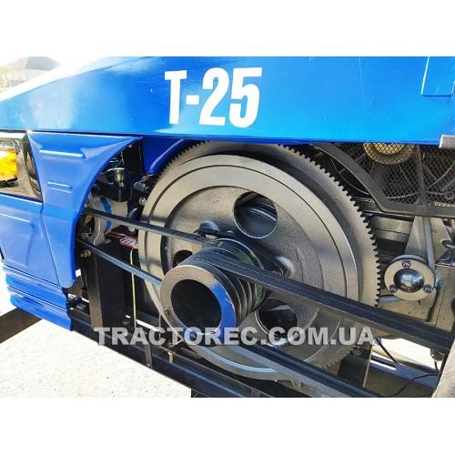 Мототрактор БУЛАТ Т-25 преміум двокорпусним плугом та фрезою 140 см! Супер пропозиція! Безкоштовна доставка!