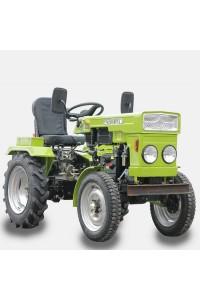 Мототрактор DW150R (мини-трактор) з плугом та фрезою (15 к.с.)