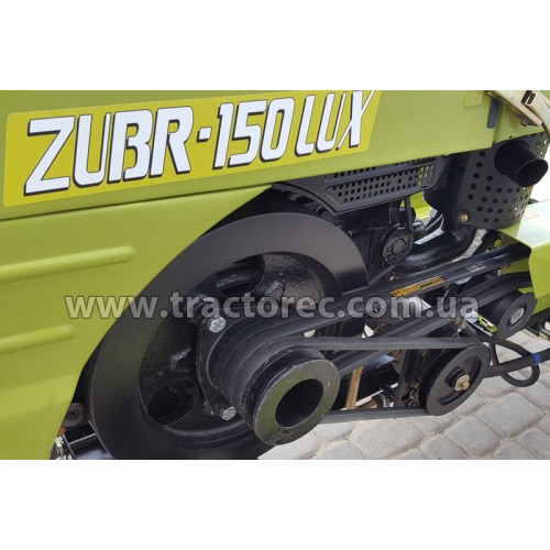 Мототрактор Zubr 150 Lux або 160 РК, + фреза 120 см та плуг. БЕЗКОШТОВНА ДОСТАВКА!