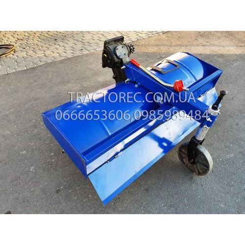 Мототрактор Т-24 потужністю 24 к.с, двохкорпусний плуг та грунтофреза 140 см в комплекті, широкі шини, потужна рама, ось 50мм, генератор