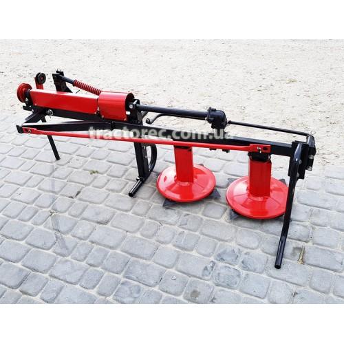 Косарка роторна КР-09М до мототракторів із ремінним приводом від шківа зчеплення, модернізована, ХІТ СЕЗОНУ